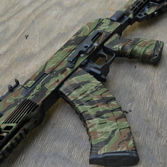 How to Camouflage an Airsoft Rifle